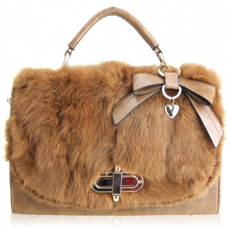 2012-rabbit-fur-bags-bow-fur-bag-women-s-handbag-free-shipping Top 79 Stylish Winter Accessories in 2018