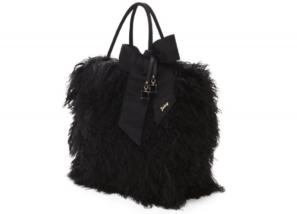 Black-Fur-Women-Bag Top 79 Stylish Winter Accessories in 2018