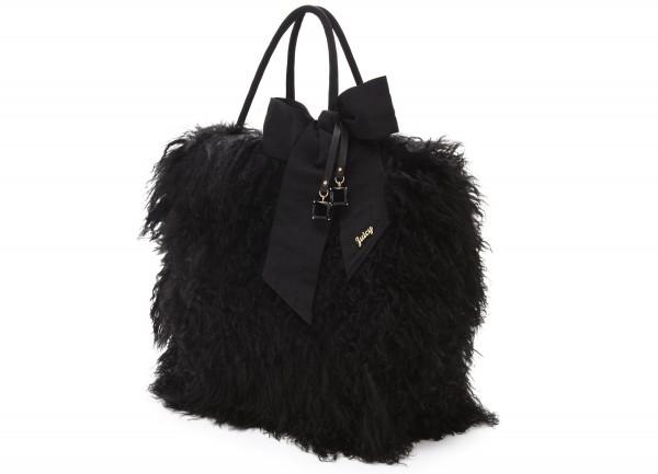 Black-Fur-Women-Bag Top 79 Stylish Winter Accessories in 2021