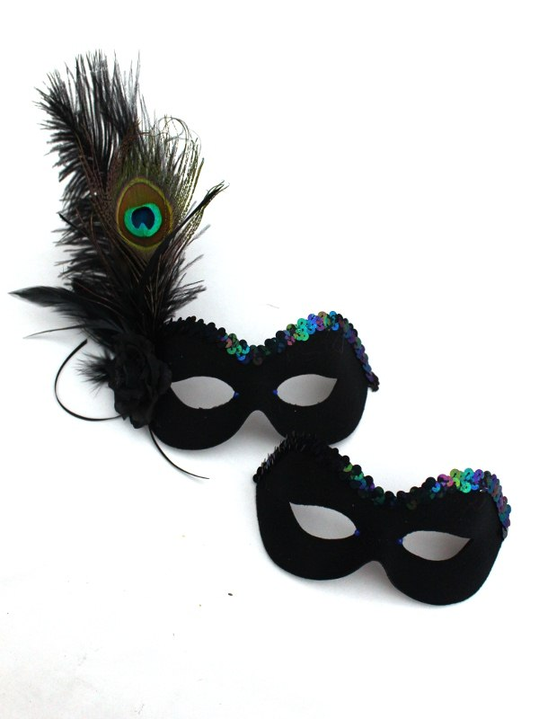 Couples-Peacock-Masks 89+ Most Stylish Masquerade Masks in 2020