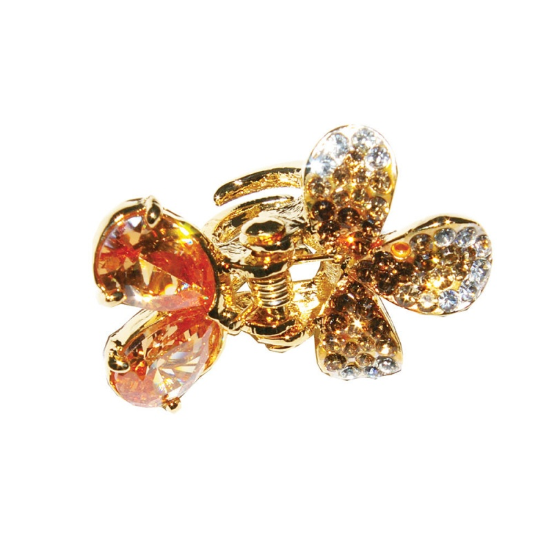 Hair-Accessories-Crystal-Peach-Blossom-Hair-Clip-by-Ruby-Frost1 Hair Jewelry: Learn What to Wear in Your Hair