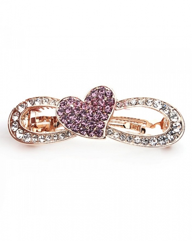 Heart-On-Hollow-Bow-Hair-Barrette-14352-sub0-700x880 Hair Jewelry: Learn What to Wear in Your Hair