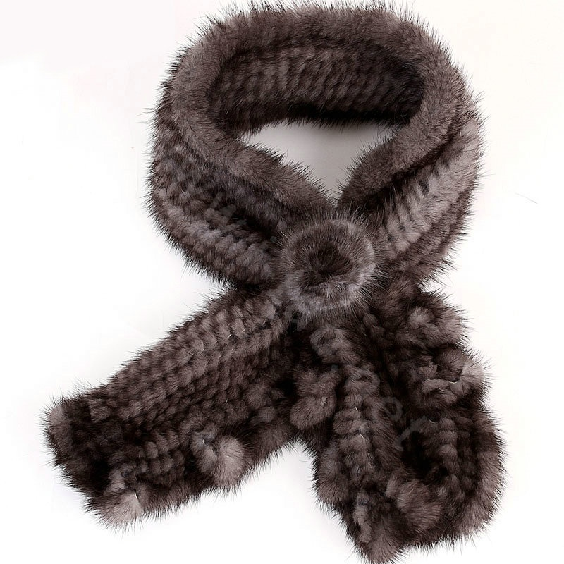 Knitted-Mink-fur-scarf-women-winter-warm-female-Flower-wave-neck-wraps-Dark-Grey-l2-1 Top 79 Stylish Winter Accessories in 2018