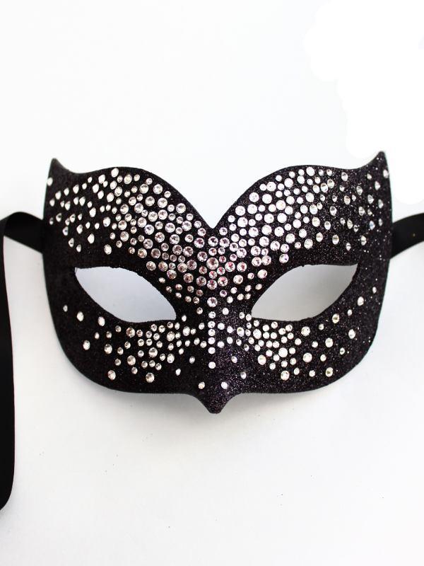 Luxury-Silver-Black-Swarovski-Crystal-Bird-Venetian-Masquerade-Mask-f 89+ Stylish Masquerade Masks in 2017