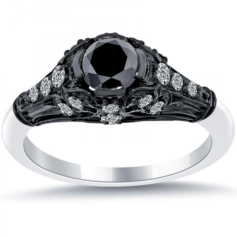 Palladium-Engagement-Rings-1 35 Fabulous Antique Palladium Engagement Rings