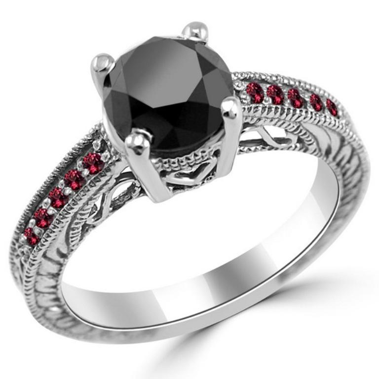 Palladium-Engagement-Rings-4 35 Fabulous Antique Palladium Engagement Rings