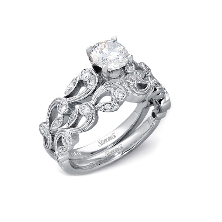 Palladium-Engagement-Rings-5 35 Fabulous Antique Palladium Engagement Rings