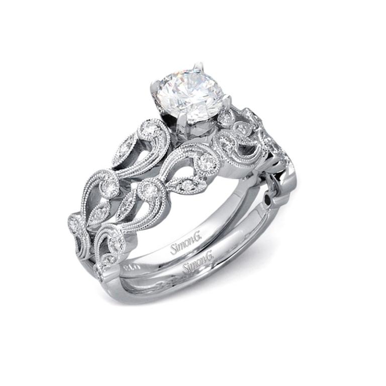 Palladium-Engagement-Rings-5 35 Fabulous Antique Palladium Engagement Rings