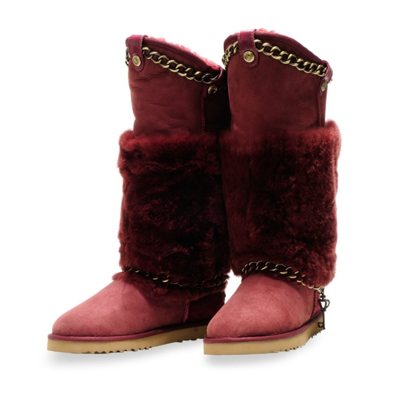 Paradise-Wine-Red-Snow-boot-snow-boots-winter-boots-Sheepskin-boots-classic-boots-classic-tall-boots Top 79 Stylish Winter Accessories in 2021