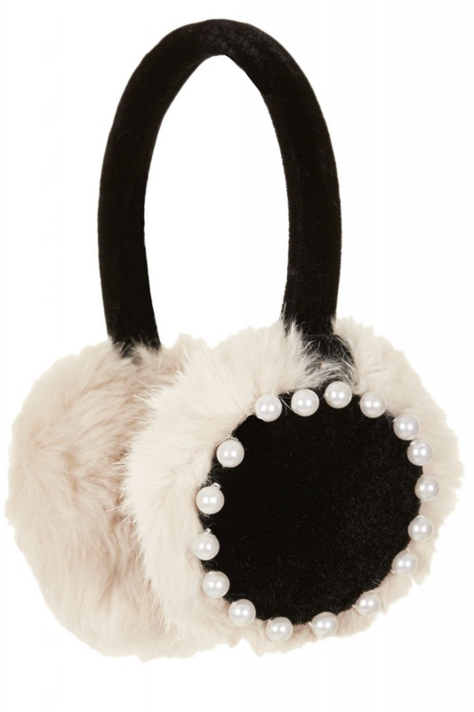 PearlTrimEarMuffs12Topshop Top 79 Stylish Winter Accessories in 2021