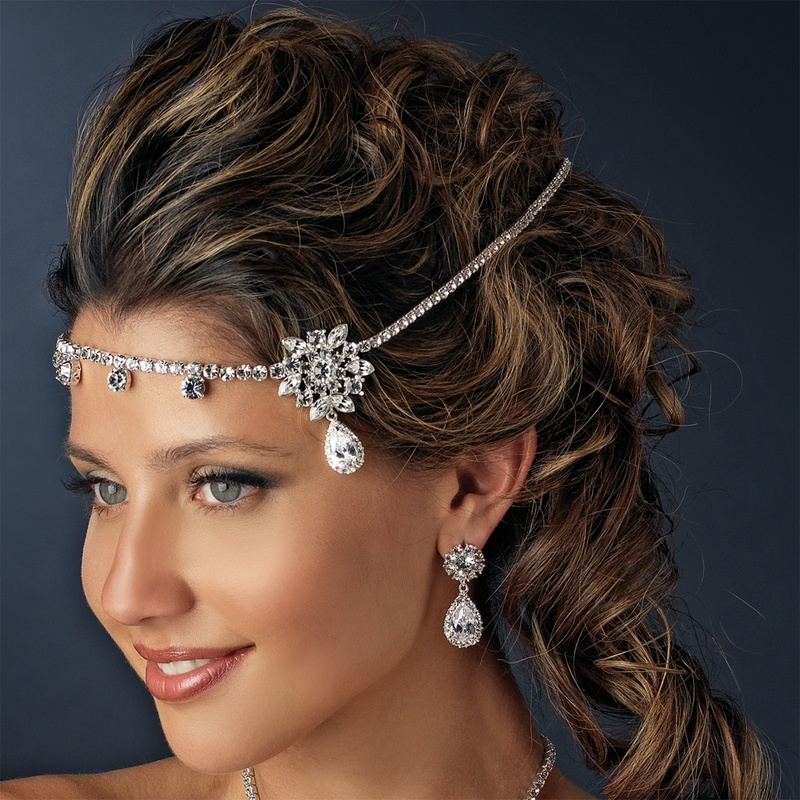 RhinestoneFloralHBand4 Hair Jewelry: Learn What to Wear in Your Hair