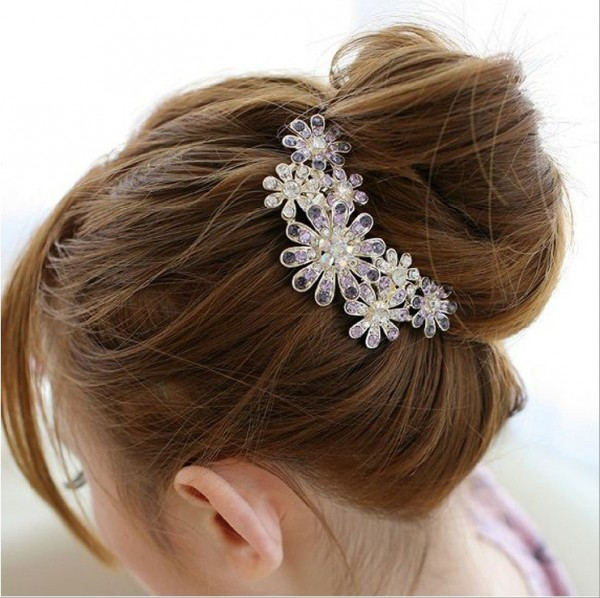 Senna-hair-combs-flower-wedding-hair-jewelry-bridal-hair-accessories-mix-order-SN0804 Hair Jewelry: Learn What to Wear in Your Hair