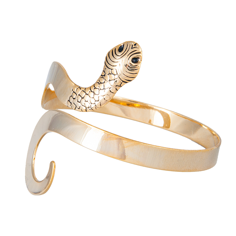 Snake-Arm-Cuff-394 49 Famous Forearm Jewelry Pieces