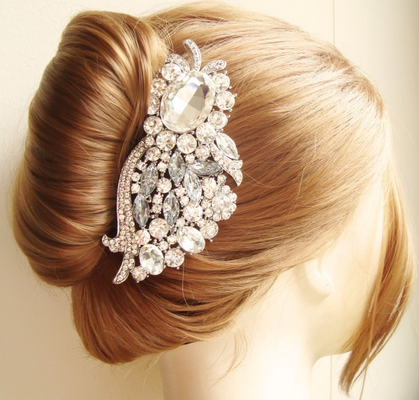 Three-Essential-Wedding-Hair-Accessories Hair Jewelry: Learn What to Wear in Your Hair