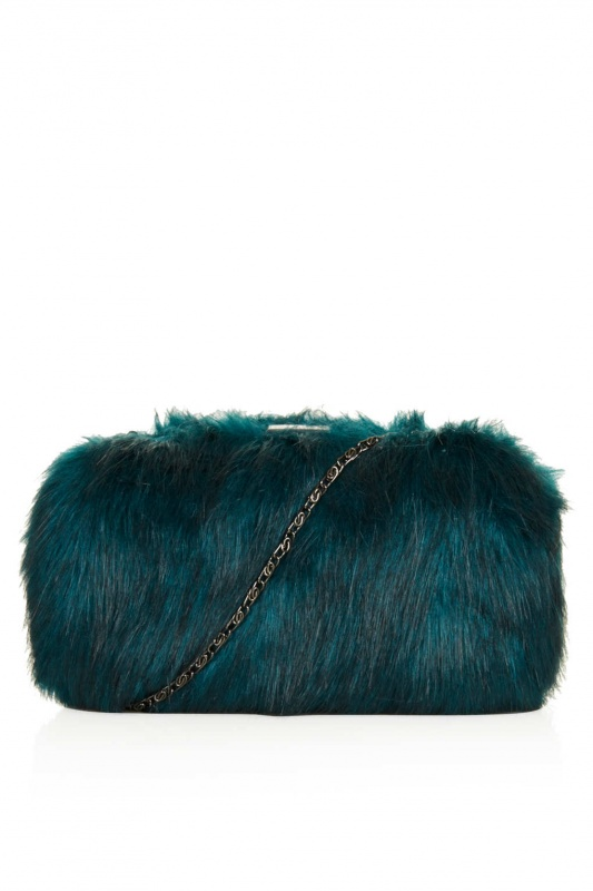 Topshop-fur-box-bag- Top 79 Stylish Winter Accessories in 2018