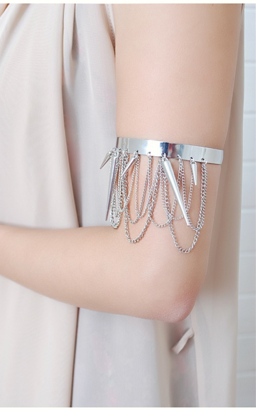 ab6176-slv01 49 Famous Forearm Jewelry Pieces