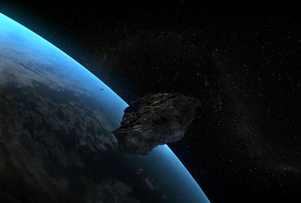 asteroid All Eyes Were On The Sky On 17th February,2014.