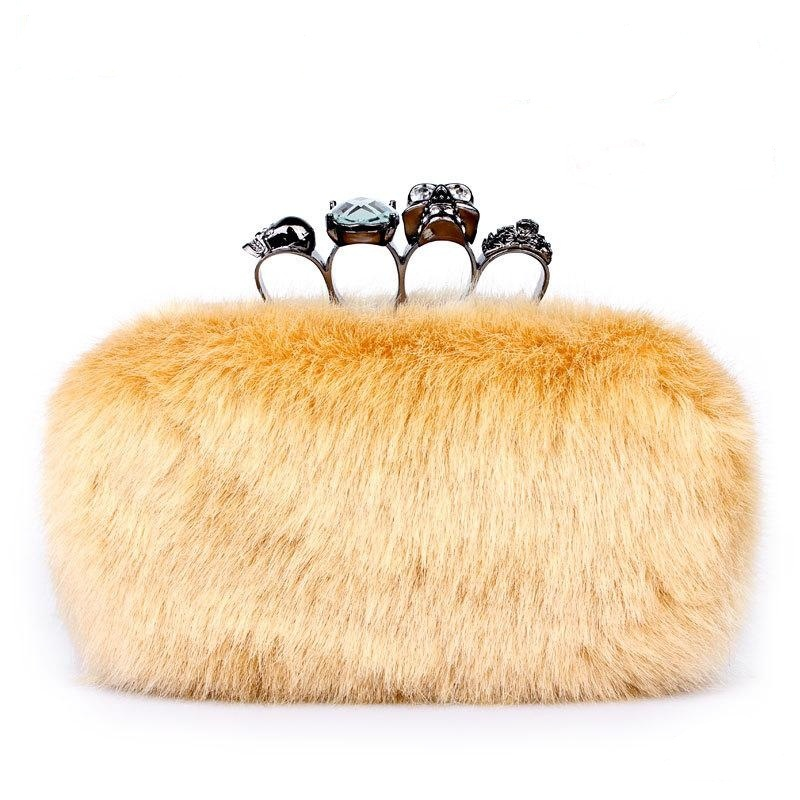bags-2012-fur-women-s-handbag-clutch-bag Top 79 Stylish Winter Accessories in 2018