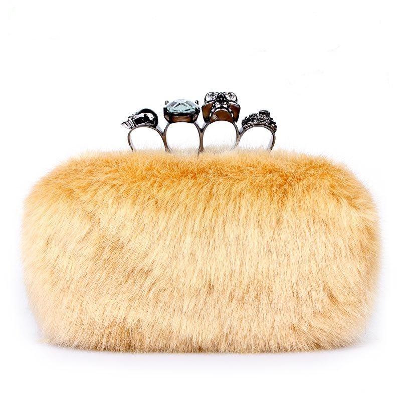 bags-2012-fur-women-s-handbag-clutch-bag Top 79 Stylish Winter Accessories in 2021