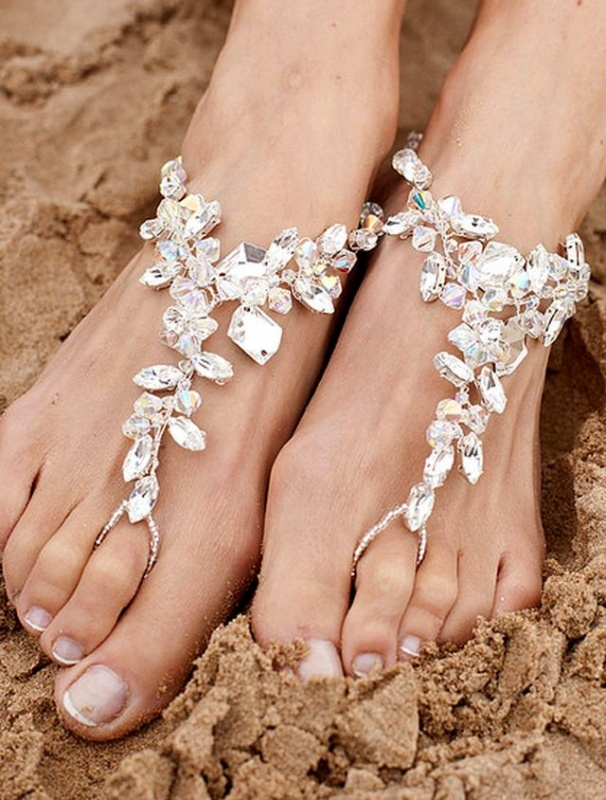 barefoot-sandal-foot-jewellery Top 89 Barefoot Jewelry Pieces in 2018