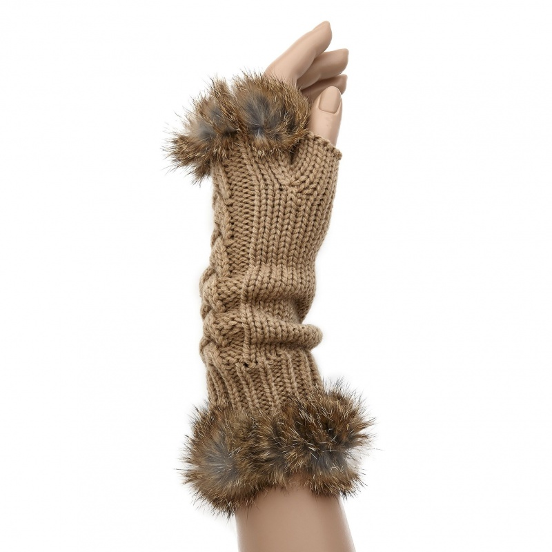 chic-sympathique-hiver-real-fur-mittens-beige-3226-p Top 79 Stylish Winter Accessories in 2018