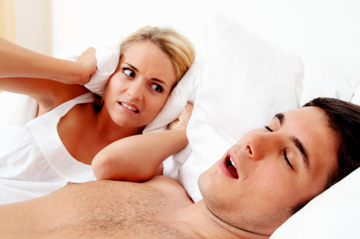 couple-snoring Fortunately, There Is A New Solution To Stop Snoring