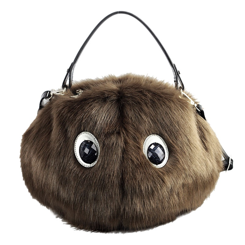 creative-2013-female-small-monster-font-b-mink-b-font-women-s-handbag-cross-body-handbag Top 79 Stylish Winter Accessories in 2021