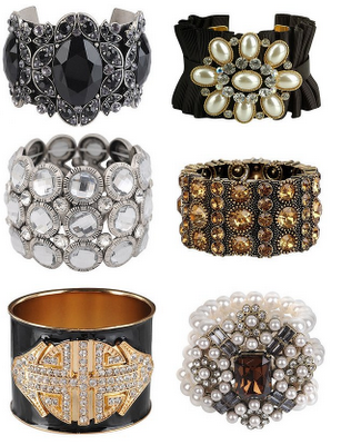 cuff-bracelets-collage 49 Famous Forearm Jewelry Pieces