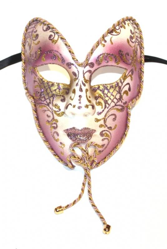 cupid-bow-gold-pinky-purple-masquerade-mask-1895-p 89+ Stylish Masquerade Masks in 2018