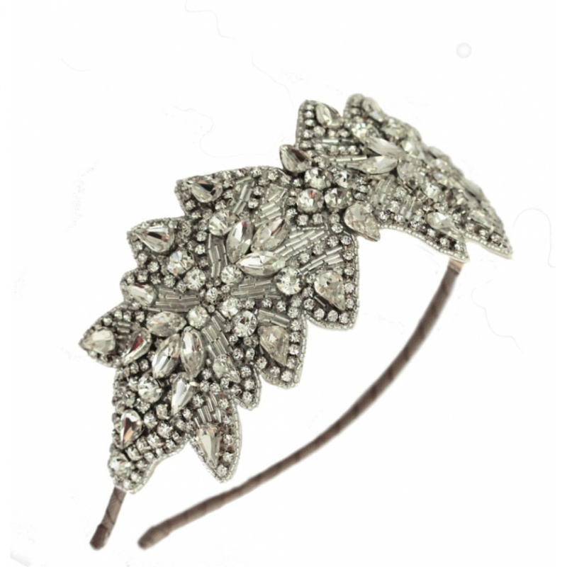 donna-crain-anna-vintage-wedding-headband-21707-3668_zoom Hair Jewelry: Learn What to Wear in Your Hair