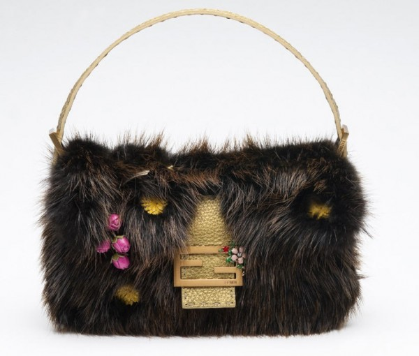 fendi-baguette-15th-anniversary-collection-fall-2005-2006-selleria-limited-edition-fur-floral-applique Top 79 Stylish Winter Accessories in 2021