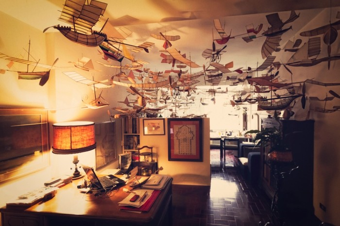 flying-1 Prina,The 83 Years Old Architect With His Imaginative Flying Boats