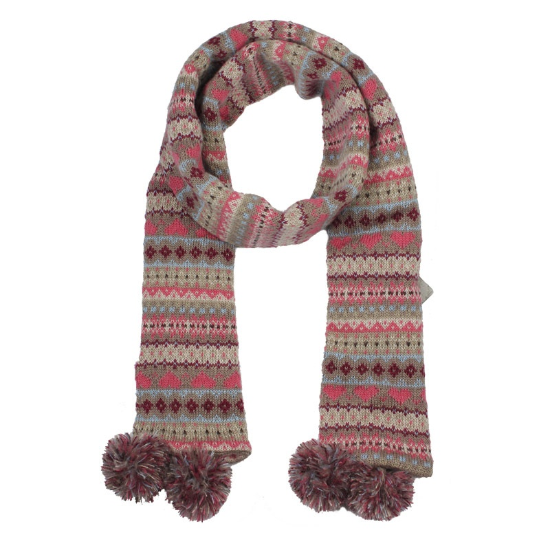 free-shipping-2012-winter-Kenmont-women-s-autumn-and-winter-scarf-mohair-knitted-scarf-love-ball Top 79 Stylish Winter Accessories in 2018