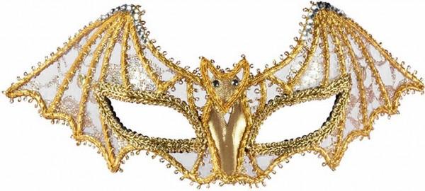 gold-bat-masquerade-mask-large 89+ Stylish Masquerade Masks in 2017