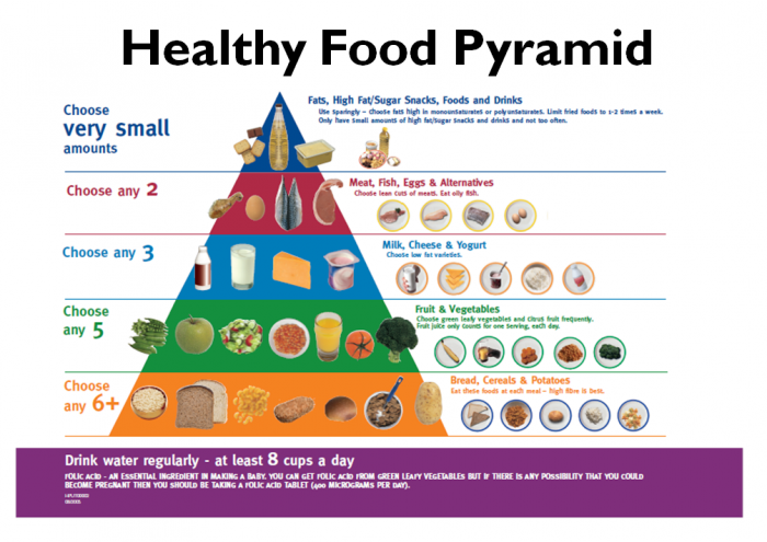 healthy-food-pyramid Top 6 Foods To Lower Your Cholesterol Naturally