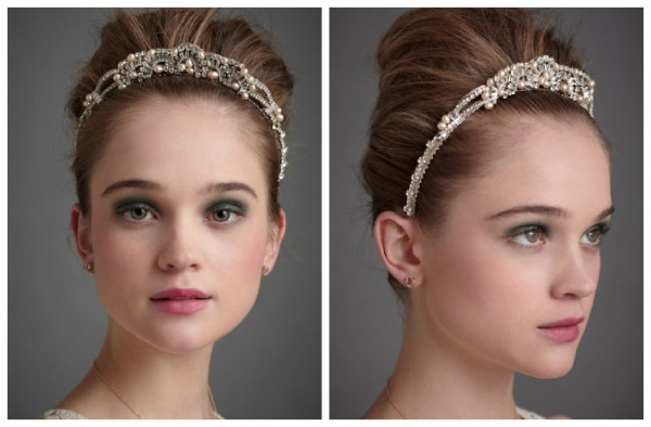 jeweled-wedding-headband Hair Jewelry: Learn What to Wear in Your Hair