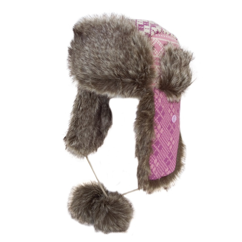 ladies-extra-thick-faux-fur-trim-knitted-trapper-hat-1541-p Top 79 Stylish Winter Accessories in 2021