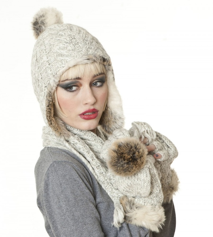 maggie-fine-cable-knit-trapper-hat-by-the-hat-company Top 79 Stylish Winter Accessories in 2021