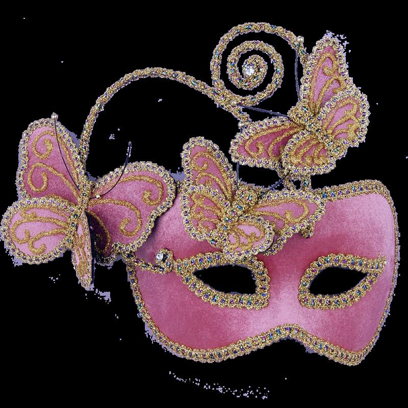 mask-venetian-hot-pink-butterflies-721773624674 89+ Stylish Masquerade Masks in 2017