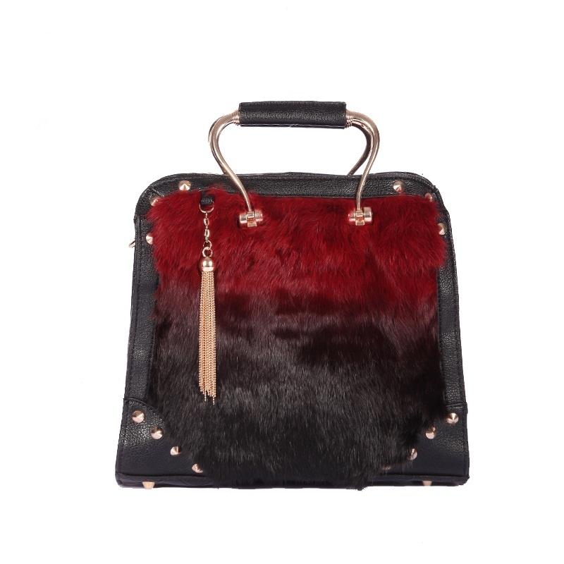new-style-2013-women-s-winter-handbag-tassel-women-s-rabbit-fur-handbag-bag-women-s Top 79 Stylish Winter Accessories in 2018