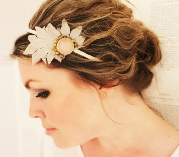 pale-leaf-headband-2 Hair Jewelry: Learn What to Wear in Your Hair