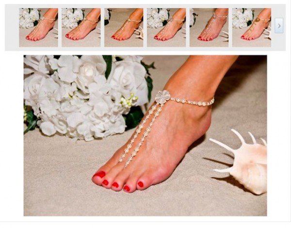 unique-foot-jewelry Top 89 Barefoot Jewelry Pieces