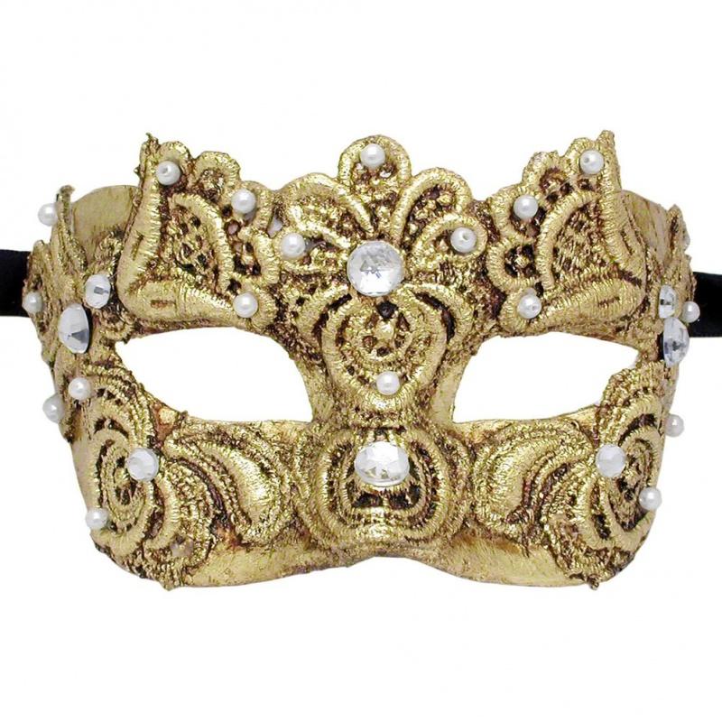 venetian-masquerade-mask-colombina-macrame-g-detail__25589.1311647384.1002.1002 89+ Stylish Masquerade Masks in 2017