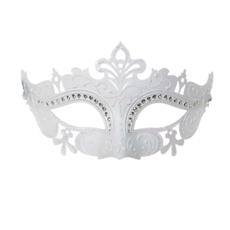 white-venetian-masquerade-mask-1 89+ Most Stylish Masquerade Masks in 2020