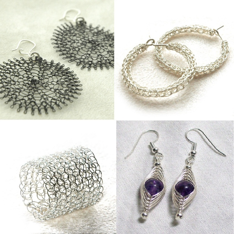 3_wire_crochet_tutorails_yoola Make Special Gifts For Your Friends with Wire Jewelry