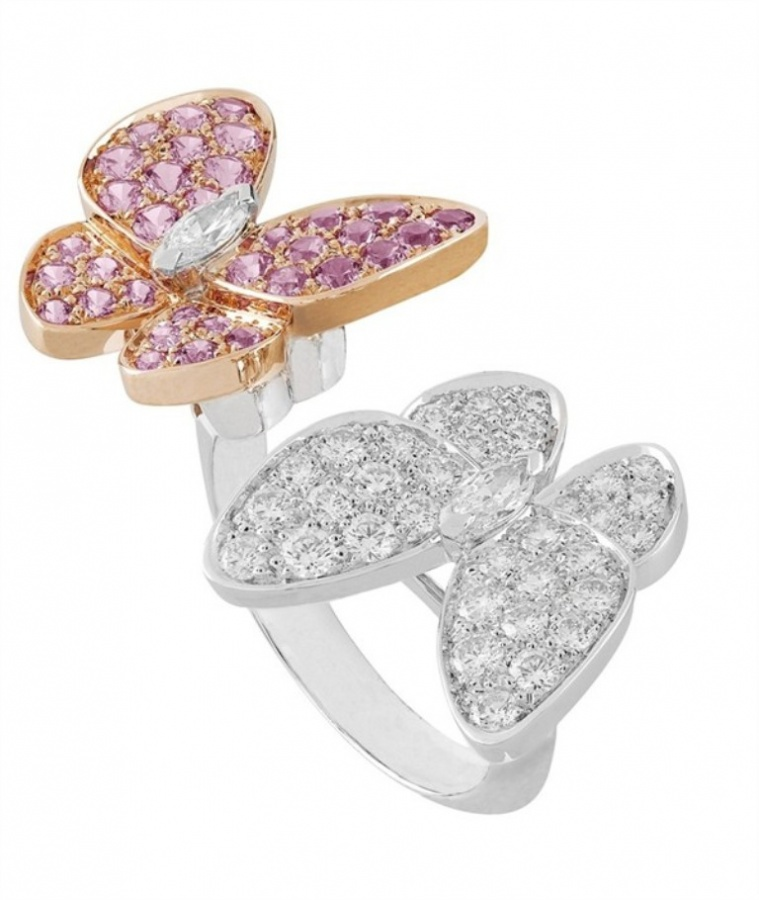 Butterfly-ring-Van-Cleef-Arpels 2020 Trends: Top 10 Luxury Jewelry Brands in the World