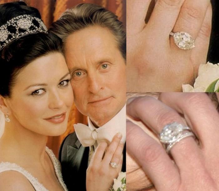 Catherine-Zeta-Jones-800x699 Top 10 Most Expensive Women's Wedding Rings