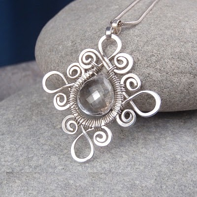 Crystal-1 Make Special Gifts For Your Friends with Wire Jewelry