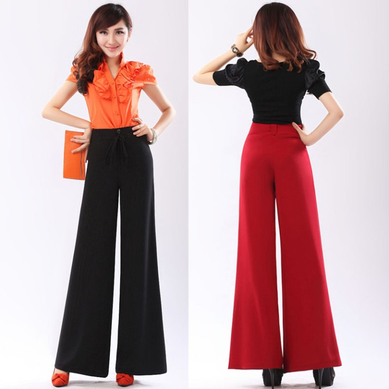 Higher-waist-and-wide-leg-pants Top 10 Fabulous & Stunning Fashion Trends for 2019