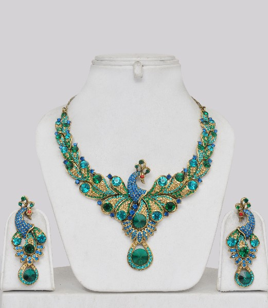 Indian-jewellery-pln13328ibc These 25+ Multicolor Jewels Will Live Up Your Outfit And Uplift Your Mood As Well